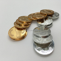 Custom Currency Souvenir plated gold coins