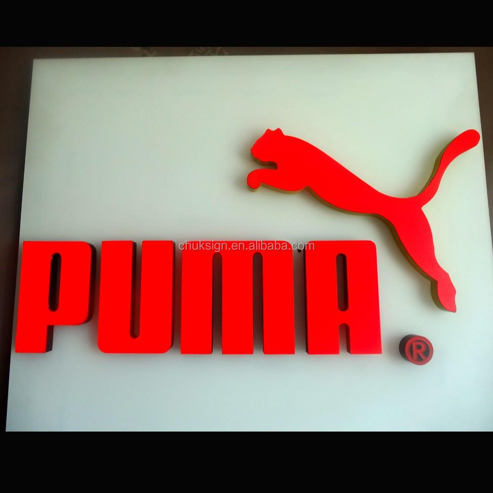 Led Logo Sign Shop Name Design Shop Logo Sign