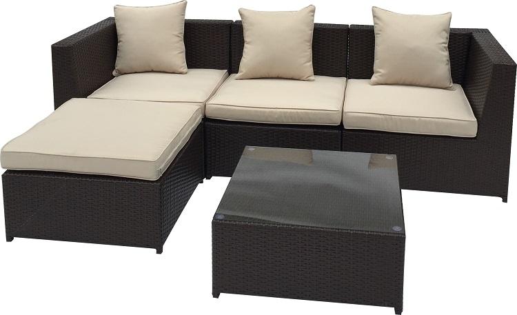 Patio Rattan Durable Single Seat Sofa Bed Table Buy