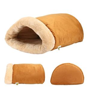 Self Warming Cat Thermal Bed Cave Style Luxury Four-Way Snuggly Cat Hideaways