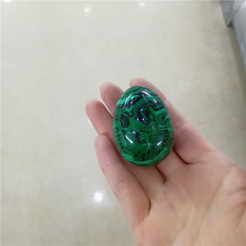 Wholesale Natural malachite Mineral Crystal Yoni Eggs