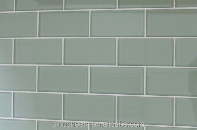 Salie groene 3x6 glas metro tegels 3 x6 glasmoza ek moza eken product id 60276258582 dutch - Groene metro tegels ...