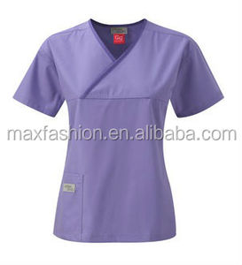 Solid Color Doctor Scrubs Uniform,Medical Scrubs Uniform Designs,Hospital Uniform Manufacture