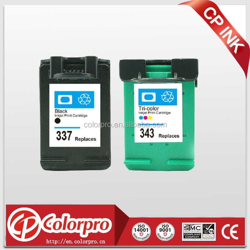 business for sale 343 337 remanufactured ink cartridge for hp 336 338 339 342 344 348 for hp 5740/6520/7410/8150