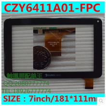 New 7 inch eurocase tablet capacitive touch screen CZY6411A01-FPC free shipping