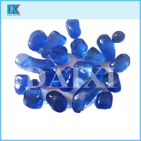 Decorative used opaque glass beads