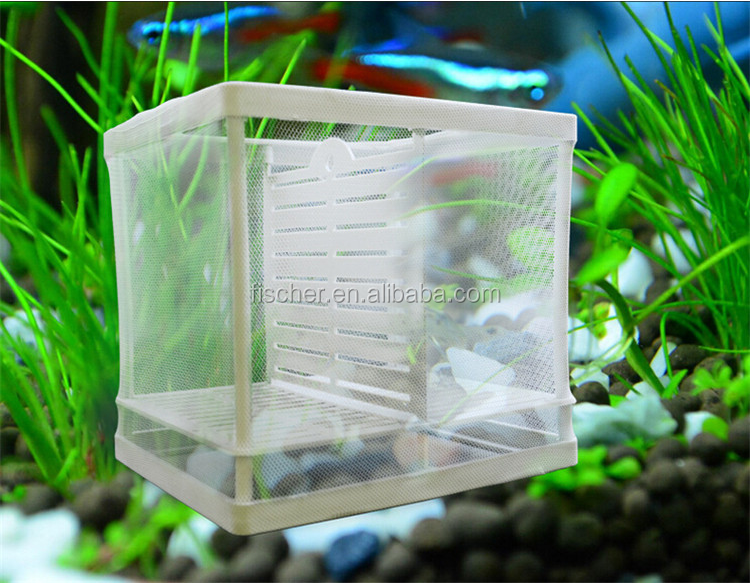 Hot Selling Aquarium Fish Tank Guppy Hatchery Breeding Soft Net ...