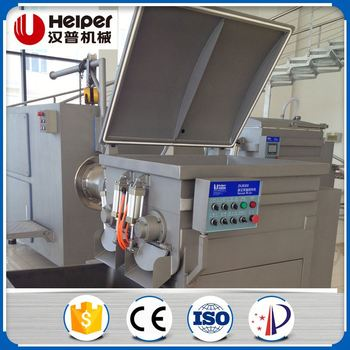 Automatic Sausage Vacuum Meat Mixer Machine