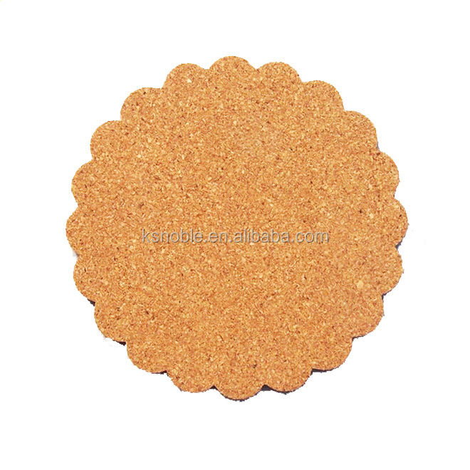 New design promotional cute customized drink cork coaster