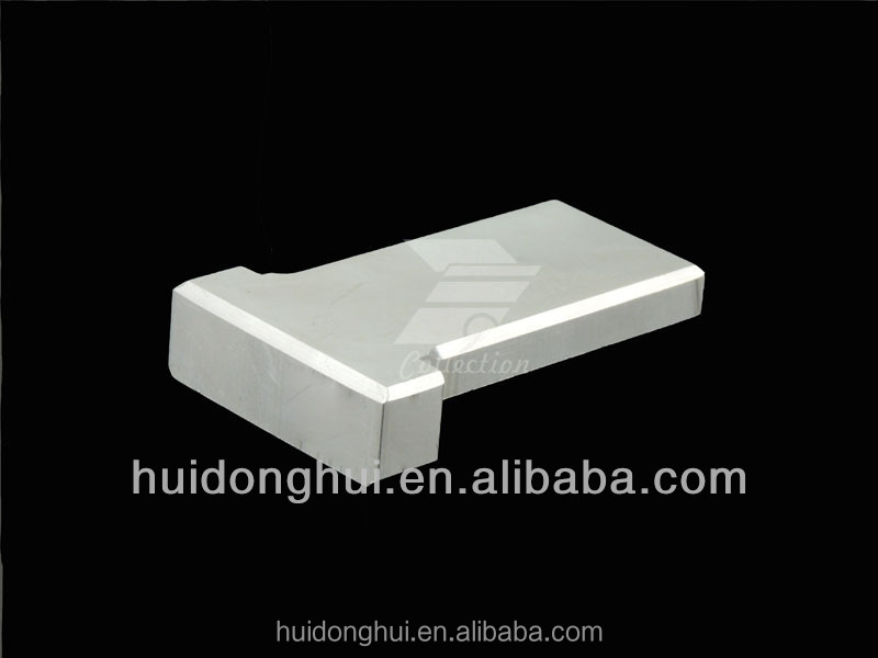 2014 new Custom fabrication CNC metal component for vacuum devices