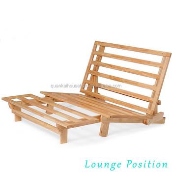 Bamboo Wooden E Saving Sofa Bed