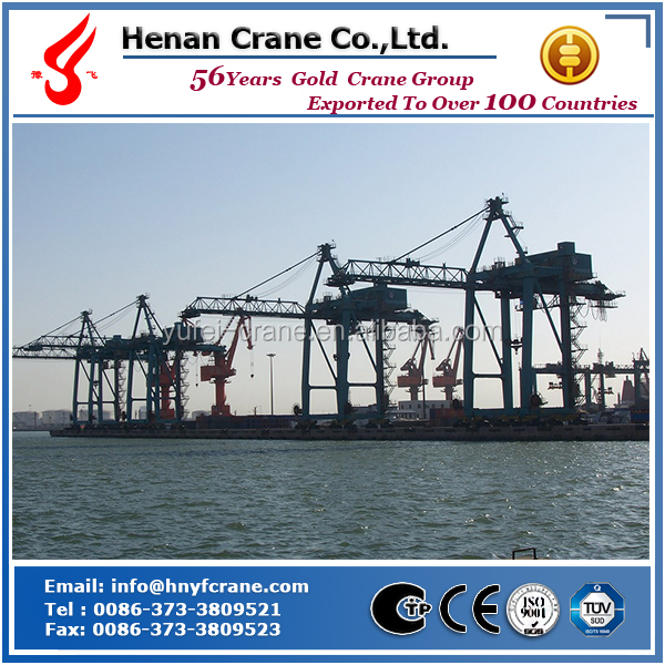 Yufei brand STS 65t quayside container crane