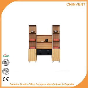 Top Selling 8 Wood Rack Filling Display Cabinet 2 Drawers