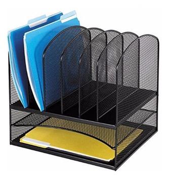 Neue Metall Papierfach Buro Mesh Schreibtisch Organizer Datei