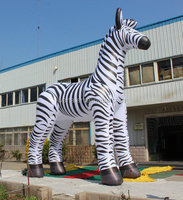 inflatable zebra horse cartoon for advertising event party show outdoor trade
