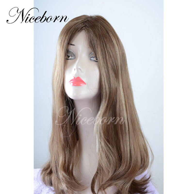 c19c1458fec84 التصميم الجديد البرازيلي باروكة شعر طبيعي-الإنسان الشعر الباروكات ...