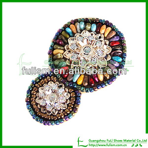 AC62 Charming And Beautiful Bead Of Plastic Accessories For Shoes