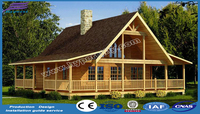 2017 Prefab wooden house, easy-assembled anti-ants wooden homes