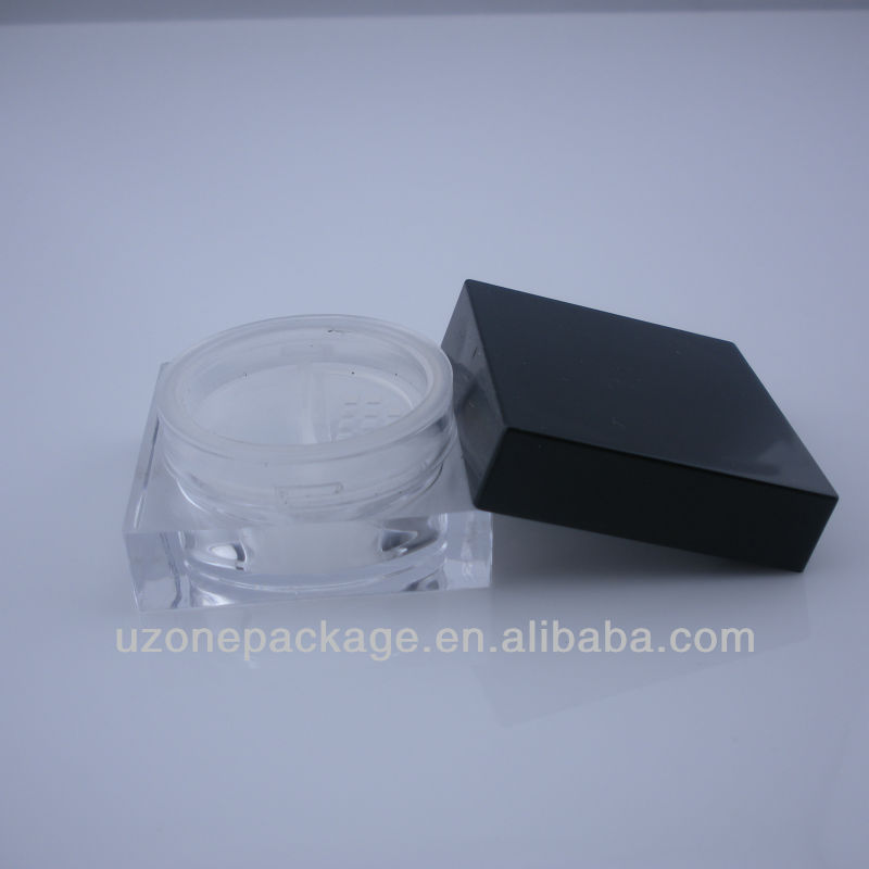 acrylic powder jar