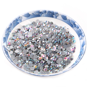 crystal AB ss20 1440pcs/bag DMC rhinestone crystal flatback loose strass hot fix stone for garment decoration