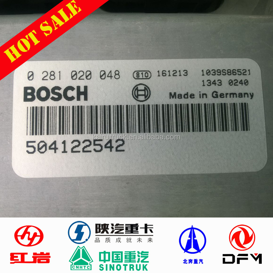 ORIGINAL IVECO 682 <strong>truck</strong> BOSCH 504122542 ECU MOTOR <strong>truck</strong> spare parts
