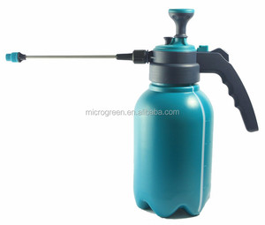 2L PE Plastic Portable Manual Pressure Sprayer For Garden and Greenhouse