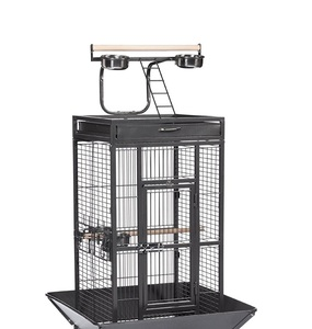 Simple Parrot Pet Cage Made of High Quality Wire Bird Cage