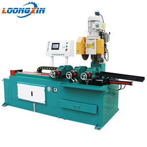 cutting tools hydraulic pipe punching machine stainless steel pipe making machine made in China