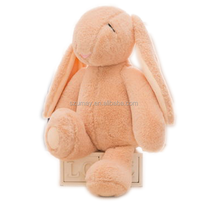 Long ear 8inch Bunny colorful stuffed plush toy soft for baby