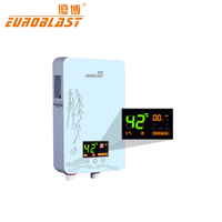 High quality multi function electric tankless hot water heater for household appliance