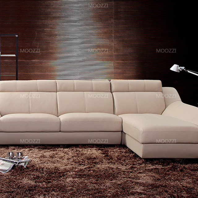Modern Furniture Leather Studded Sofa Couches Set Designs