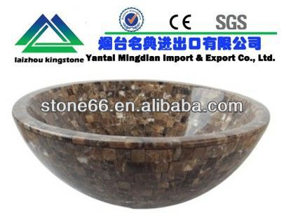 hot sales stone resin wash basin CE