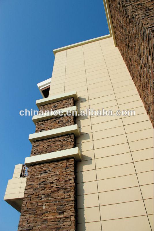 Panel De Revestimiento De Fachadas De Terracota Fachada De Exteriores De  Muro Cortina, Decoración De
