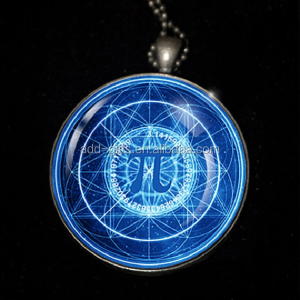 "1.75"",The Symbol of PI - a custom made pendants, keychain,badges, mass by iron, antique plated, CMYK printed with epoxy"