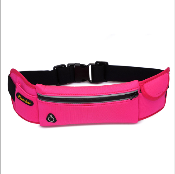 Customized logo 방수 neoprene 허리 팩 백 running belt