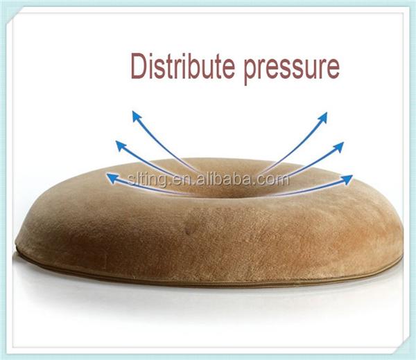 Contour Donut Seat Cushion Pillow Memory Foam Seat Cushion