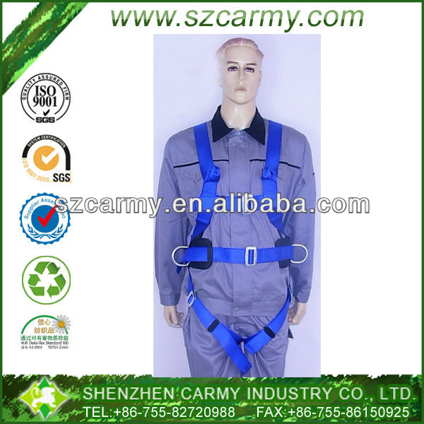 Construction building blue 150M Aloft safety work lifting belts