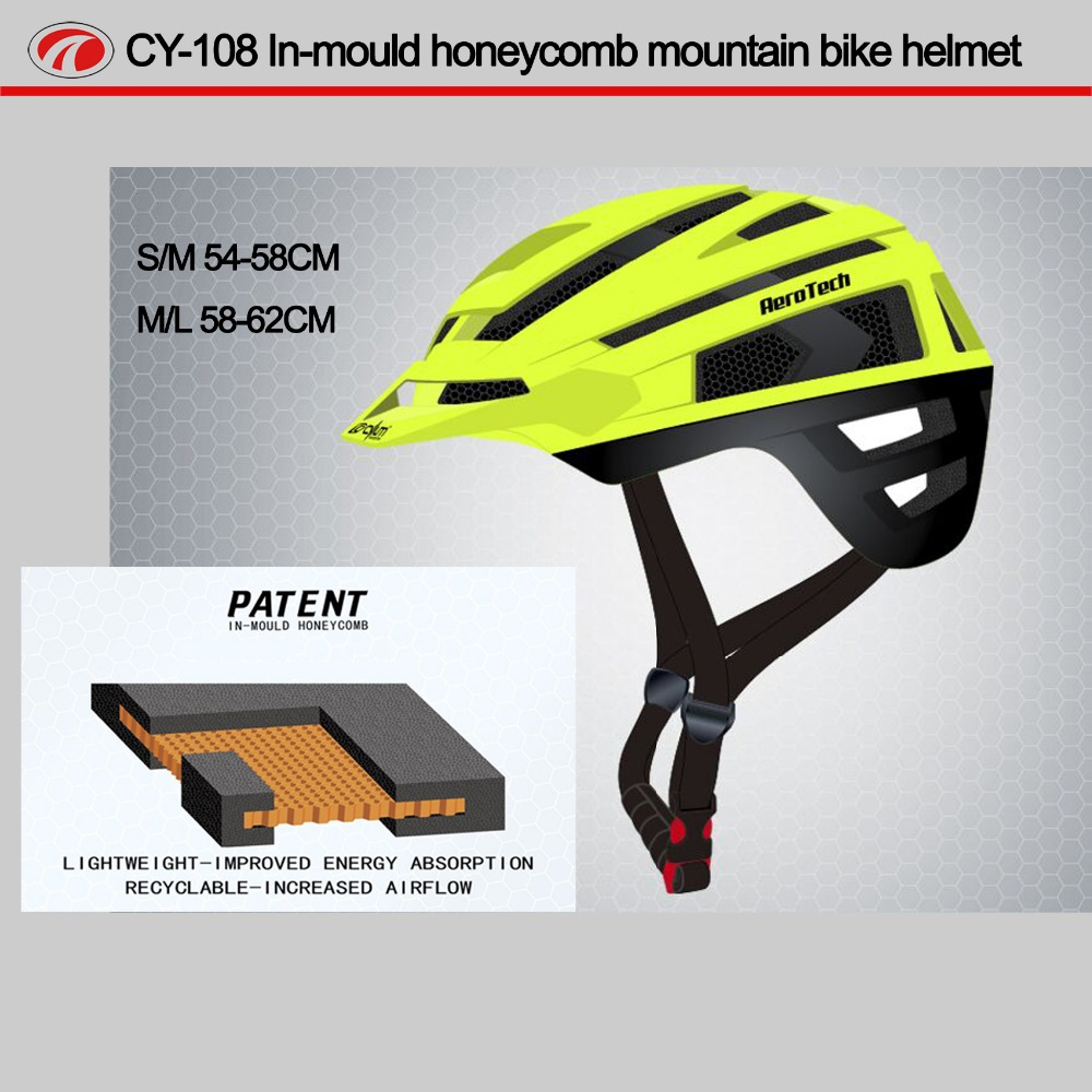 Various Custom Sport Halmets,Original Design Breathable Open Honeycomb Helmet CY-108