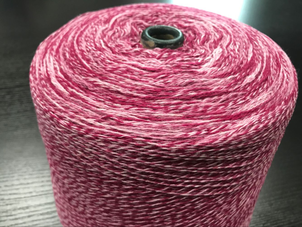 High Tenacity 2/16NM 70/30 cotton viscose colored spun blended knitted yarn