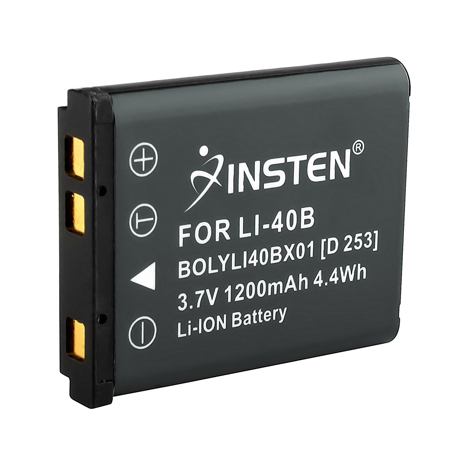 Insten Replacement Olympus Li-40B Lithium Ion Rechargeable Battery Compatible with Olympus D-630 Zoom / FE-5500 / IR-300 / SP-700 / X-600