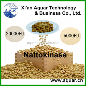 Natural food supplement nattokinase powder like lumbrokinase