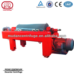 PDC Oilfield Drilling Mud Horizontal Decanter Centrifuge