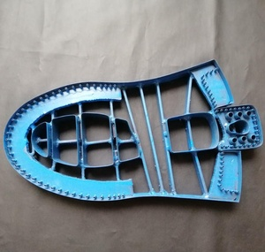 Steel die cutting moulds/molds for shoe parts, leather, fabric