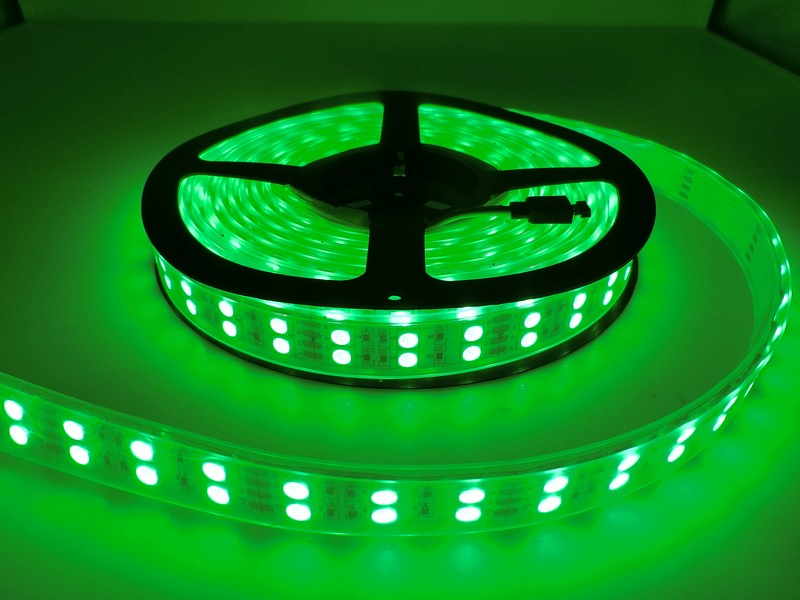 FEICAN LED Strip 5050 120 LEDs/m DC12V Silicone Tube Waterproof Flexible LED Light Double Row 5050 LED Strip 5m/lot