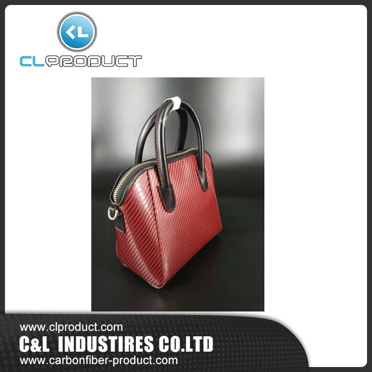 Superior quality Carbon fiber women hand bag
