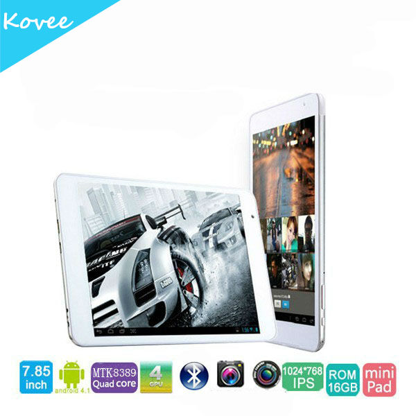 7.85 inch MTK8389 Quad Core Phone Calling Tablet Ramos X10 Pro 3G