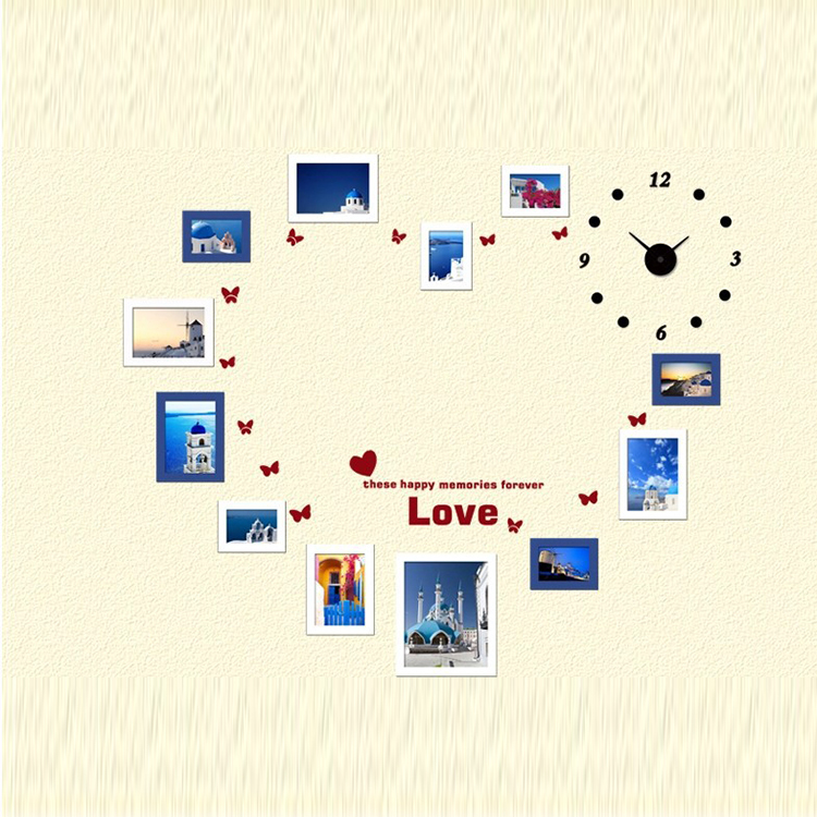 handmade wall hanging love heard picture frame latest design wood frame of high quality - Wall Hanging Photo Frames Designs