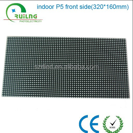 Excellent visual effect P5 advertising indoor led display modules