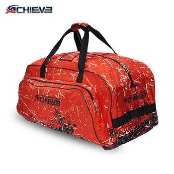 Custom Made Sports Ice Hockey Bag Trolley Travel Bags Product On Alibaba