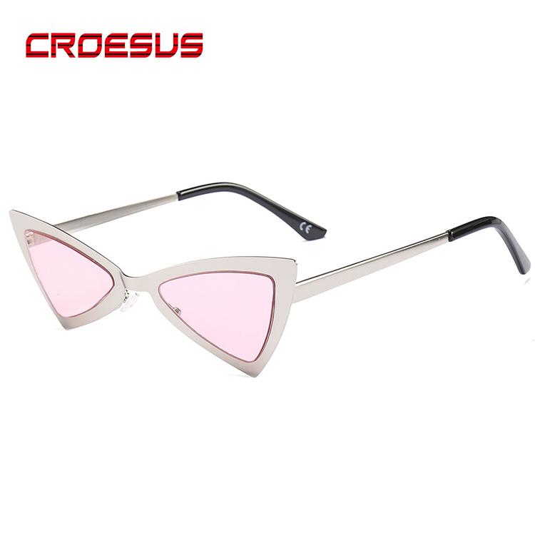High Quality Customized Logo Vintage 2019 Ladies Polarized Brand Sun Glasses Sunglasses, Triangle Sunglasses